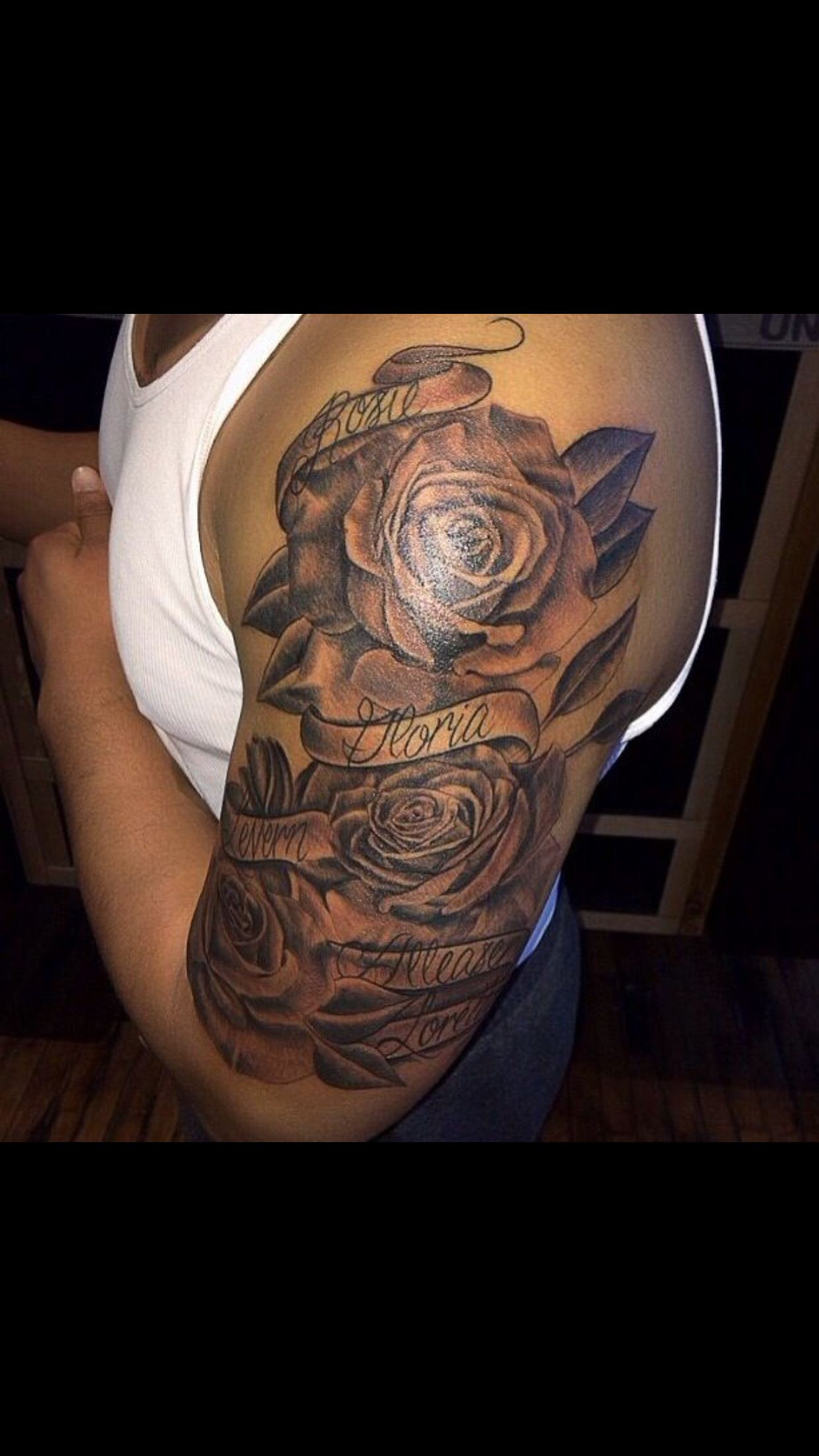 Pin By Katiie Loveless On Sleeve Names Tattoos For Men Tattoos