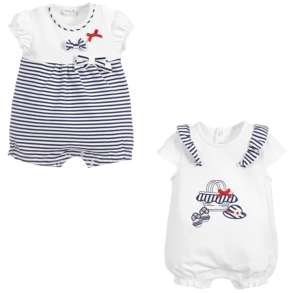 cdfbe1d1f1fa Baby girls pack of two shorties from Mayoral Newborn