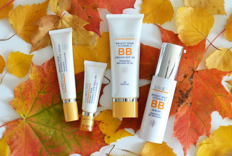 Bright Now Vitamin C skin care products by @Erika Naakka . #skincare #lumene