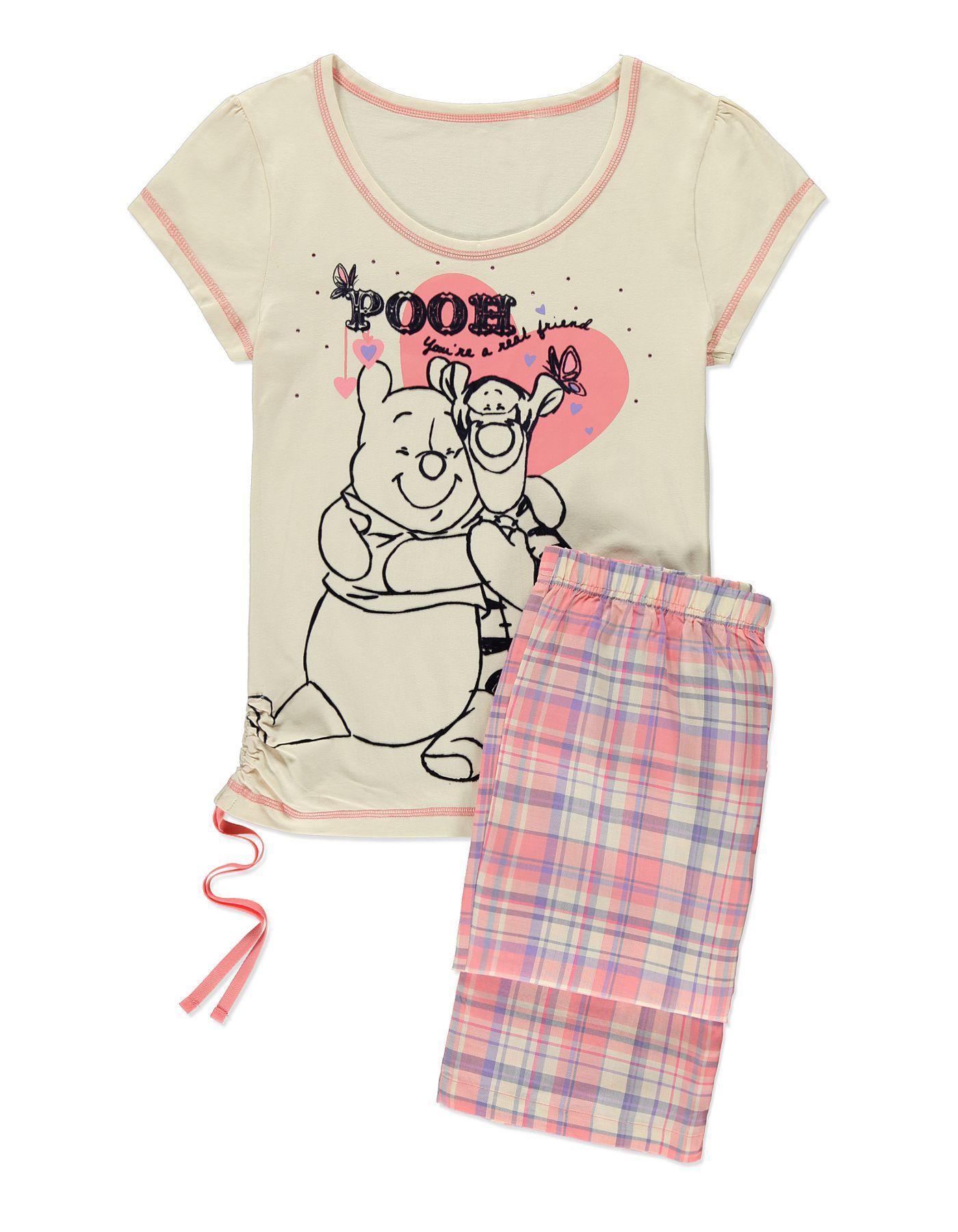 Pooh and Tigger Pyjama Set Women at ASDA