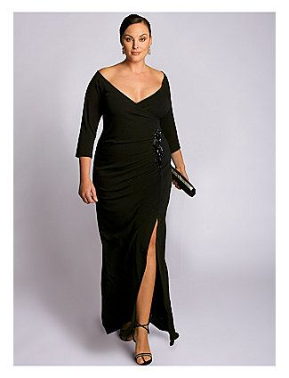 Plus size evening dresses lane bryant