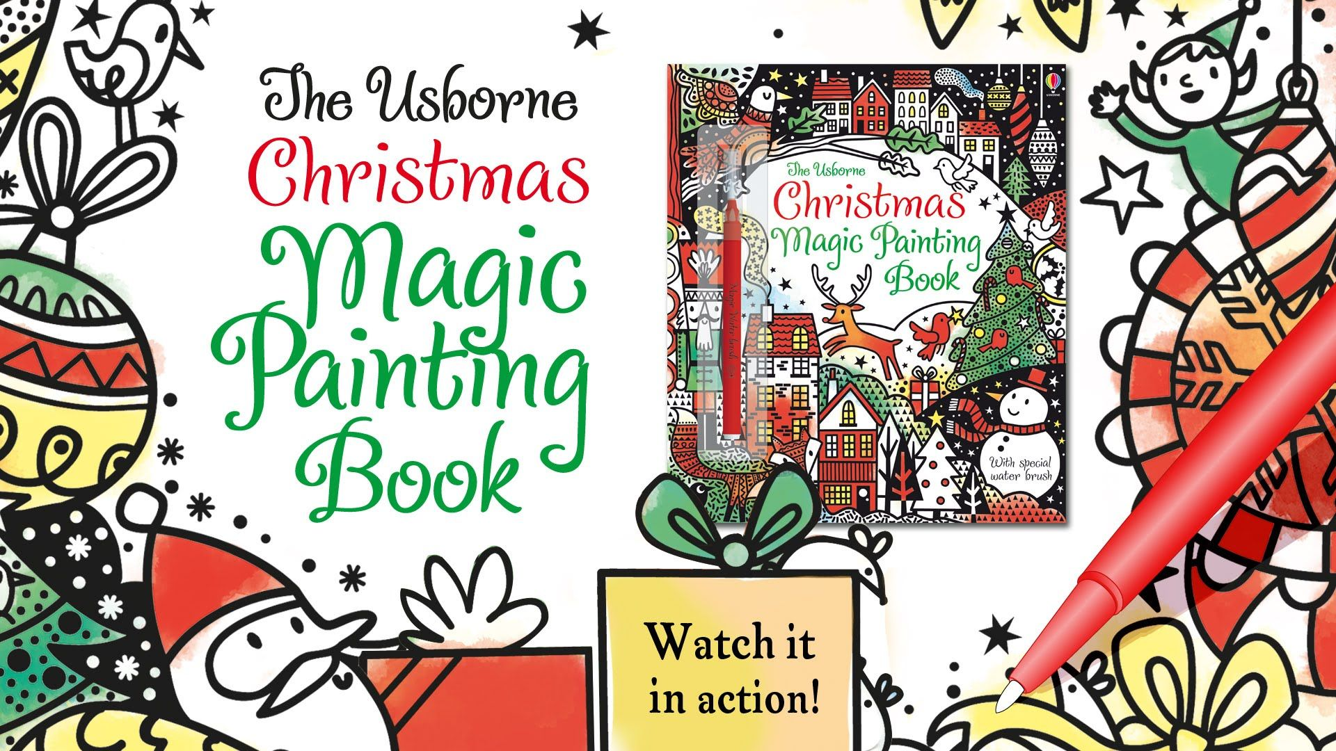 Watch Pictures Come to Life with the Christmas Magic