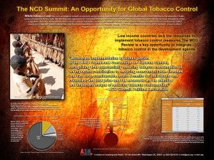 THE NCD SUMMIT: AN OPPORTUNITY FOR GLOBAL TOBACCO CONTROL