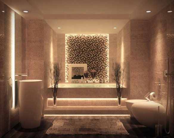 Decoration Zen Bathroom Minimalist Design