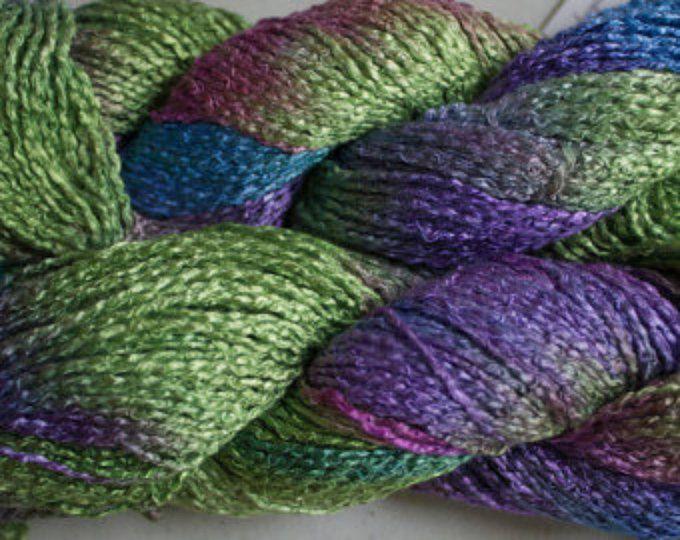 Pattern - Knitted Finch Ruffle Shawl   Boucle yarn, Yarn ...