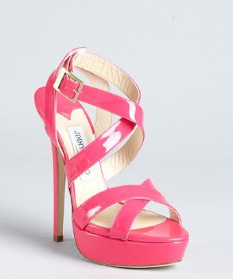 Anything pink is adorable! | Jimmy choo