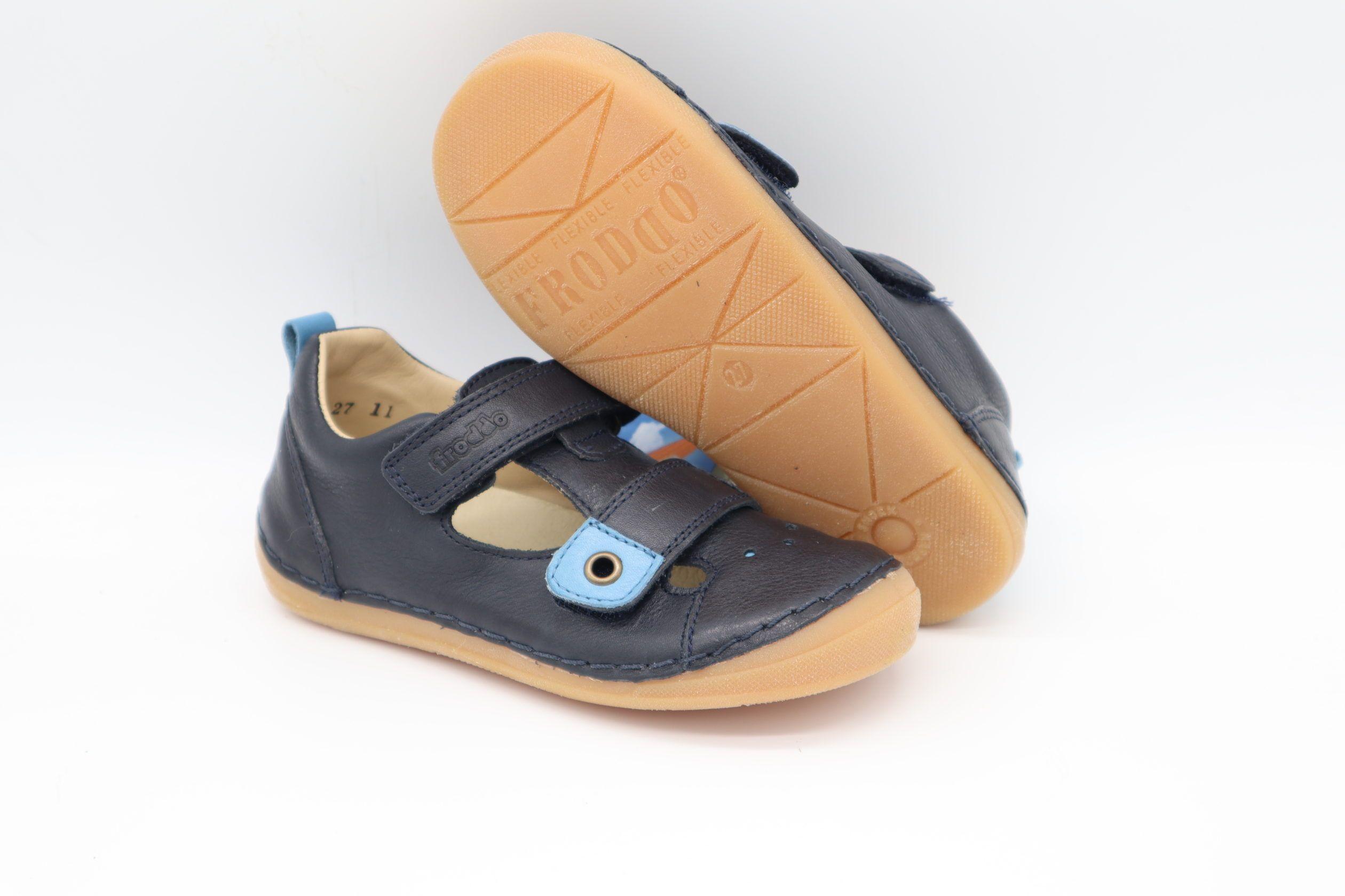 Froddo Sandalen Dark Blue Kompromiss Barfußschuhe Für Kinder Barfußschuhe Sandalen Barfuß
