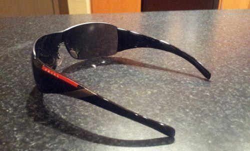 fbfd258317504 Prada Sunglasses SPS 07H Sport Gunmetal Gray Gradient Lens Shield Sunglasses  « Xquisite Beauty