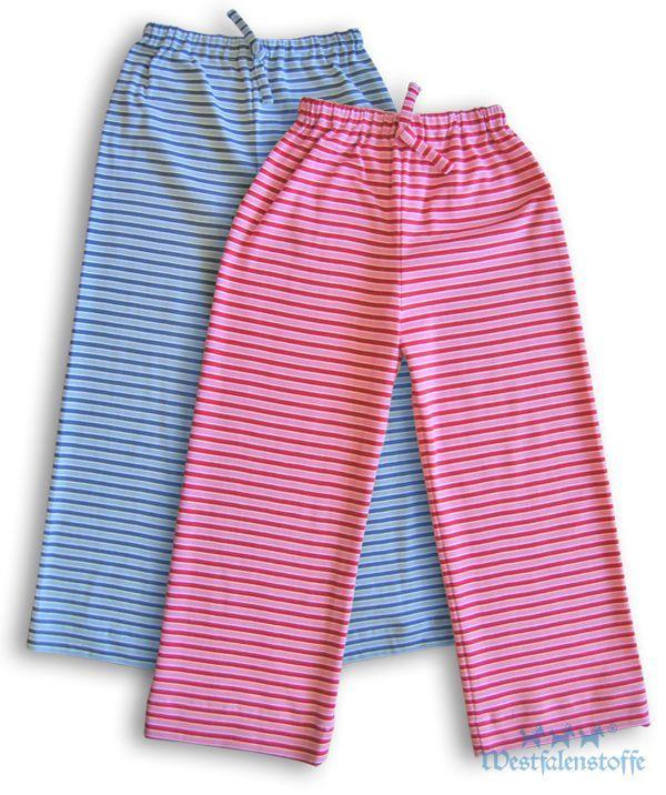 8e95ddce98 DIY Nähanleitung: Pyjamahosen für Kinder | Schnittmuster ...
