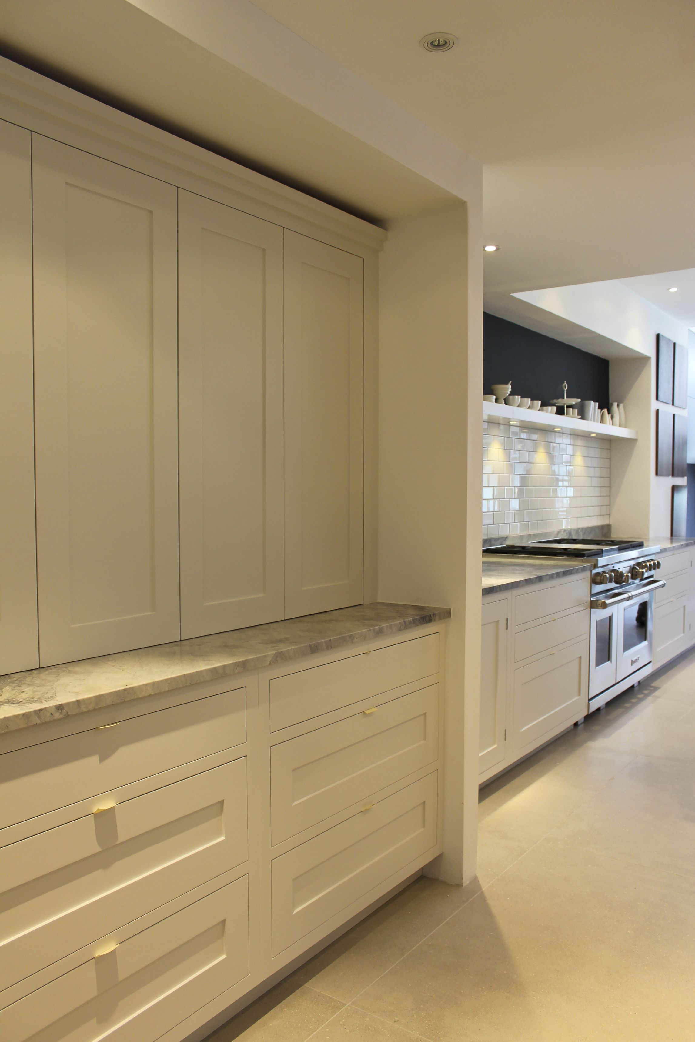 Roundhouse Bespoke Kitchen In Fulham Showroom Transitional