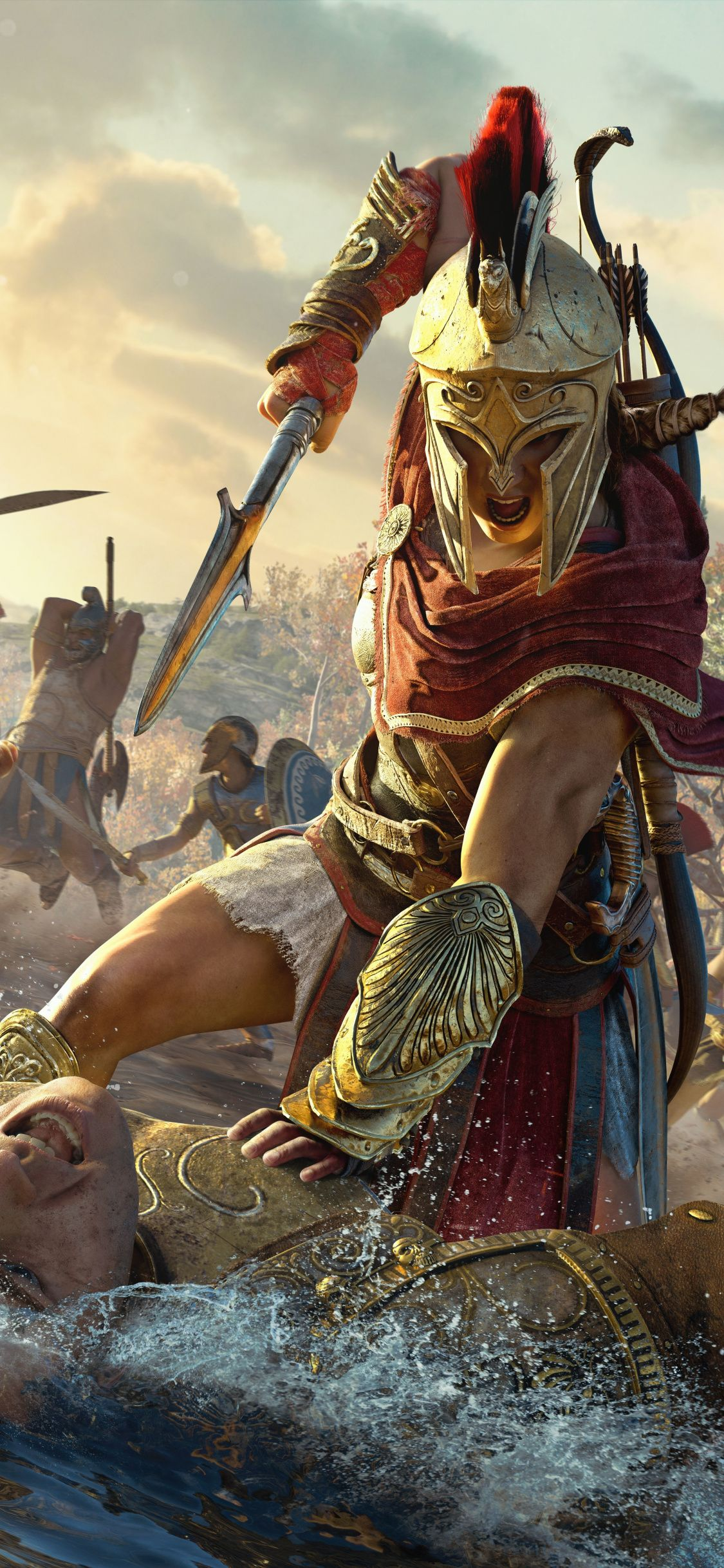 Kassandra, Assassin's Creed Odyssey, warrior, 2018
