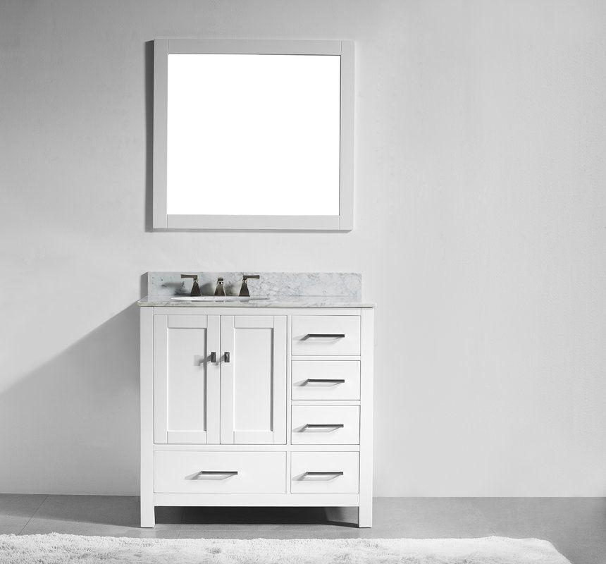 Sverre 36 Single Vanity Set Bathroom Vanity Vanity Small