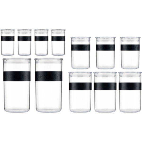 Bodum Presso Opbevaringsglas 12 stk. 0,252 liter