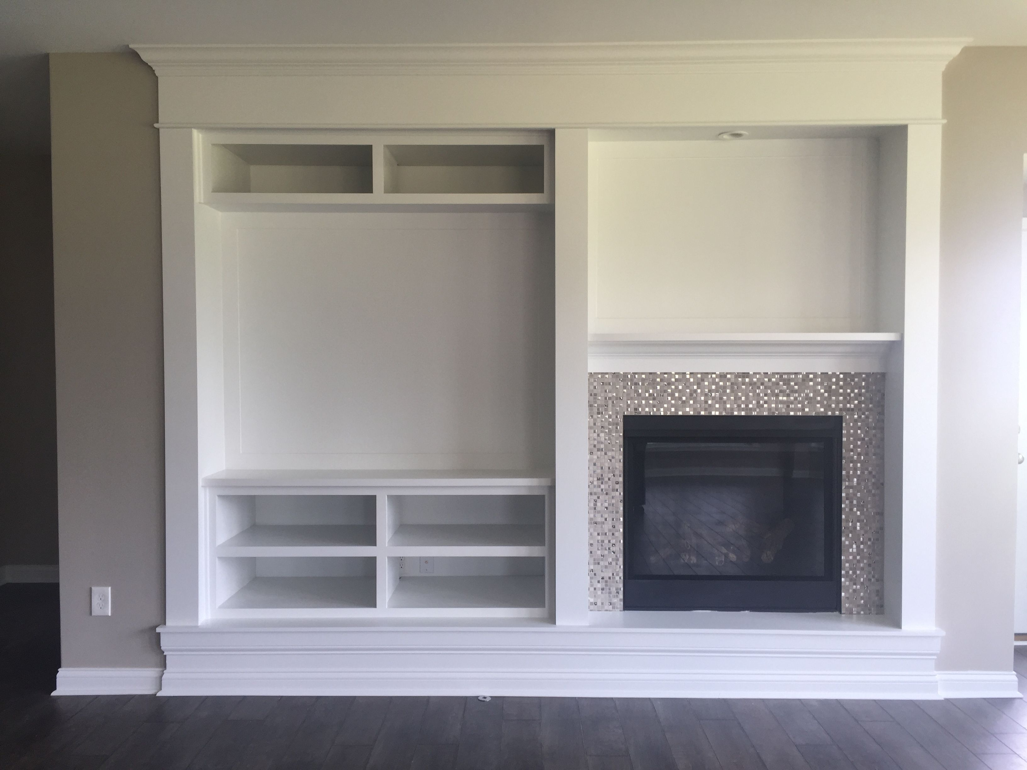 Fireplace Media Center With Upgraded Surround Marvel Whims