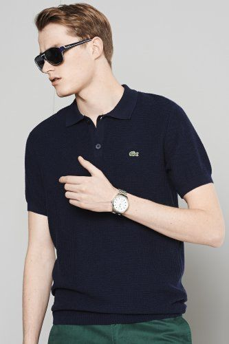 6a48c3cf Pin by PK on Lacoste outfits | Lacoste polo, Lacoste polo shirts, Polo  sweater