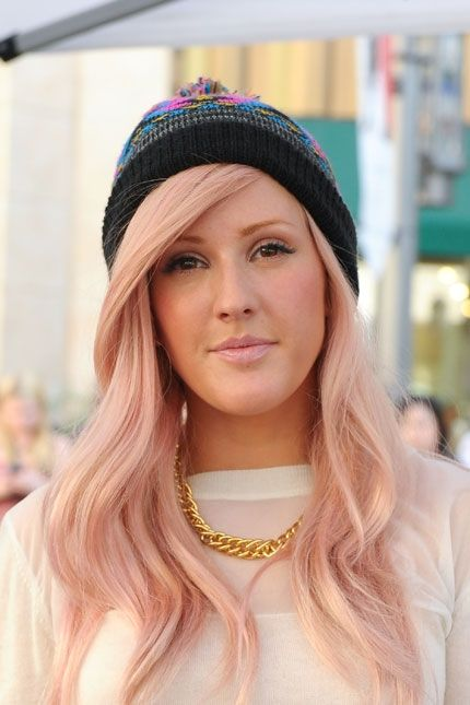 Think pink with 20 cotton candy colored dye jobs beige for Natural rose colors