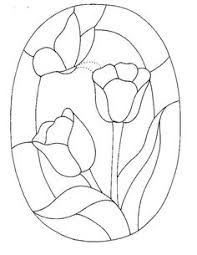 Resultado De Imagen Para Vitrales Dibujo Flores Stained Glass Patterns Free Stained Glass Patterns Stained Glass Quilt