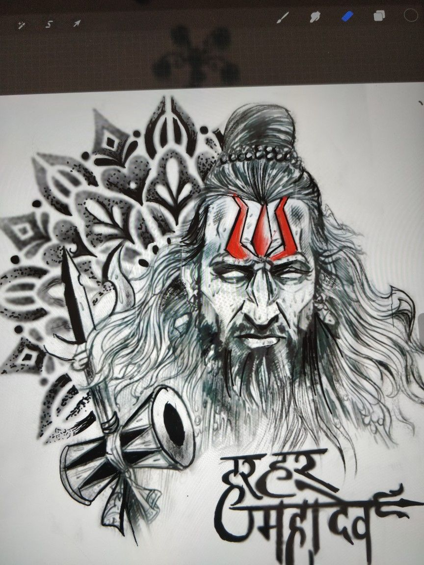 Shiva tattoo mahadev lord shiva tattoo design shivasleeve tattoo
