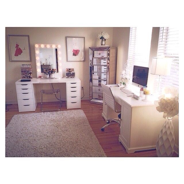 ITS JACLYN HILLS MAKEUP ROOM | luna | Pinterest | Makeup rooms Office spaces and Room  sc 1 st  Pinterest & ITS JACLYN HILLS MAKEUP ROOM | luna | Pinterest | Makeup rooms ...