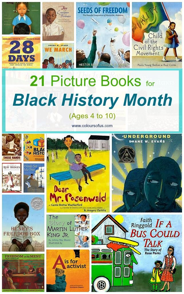 21 Picture Books for Black History Month | Black History