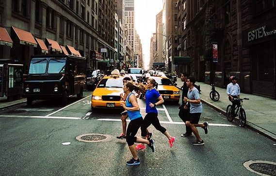 running nike new york