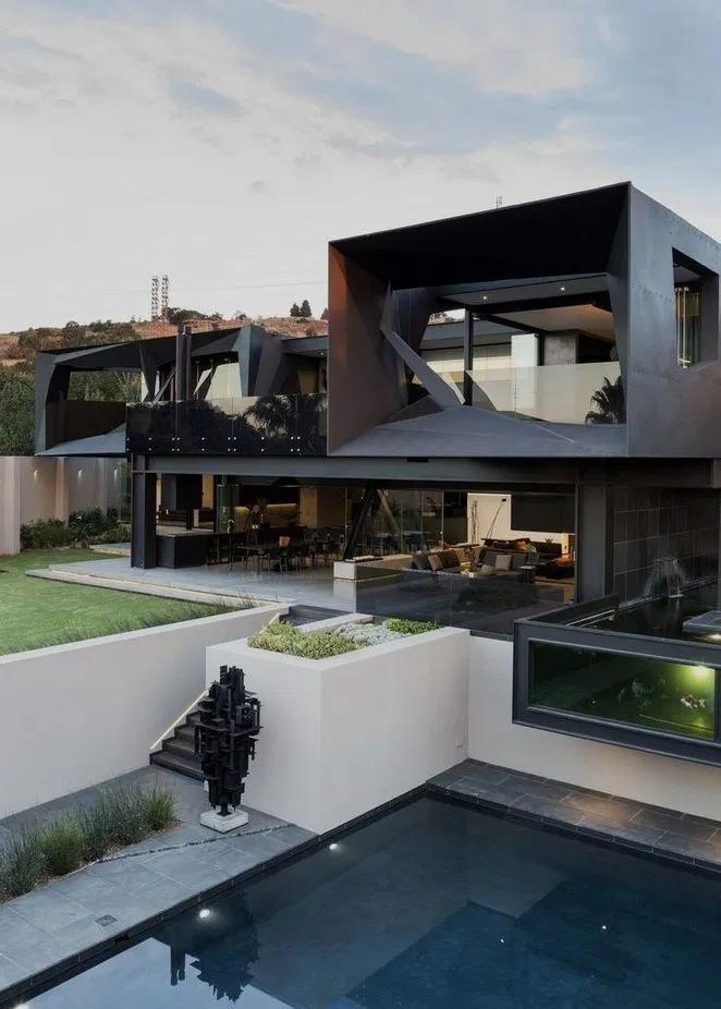 22 Stunning Modern Dream House Exterior Design Ideas 20 Bloghenni Online House Architecture Design House Designs Exterior Architecture House