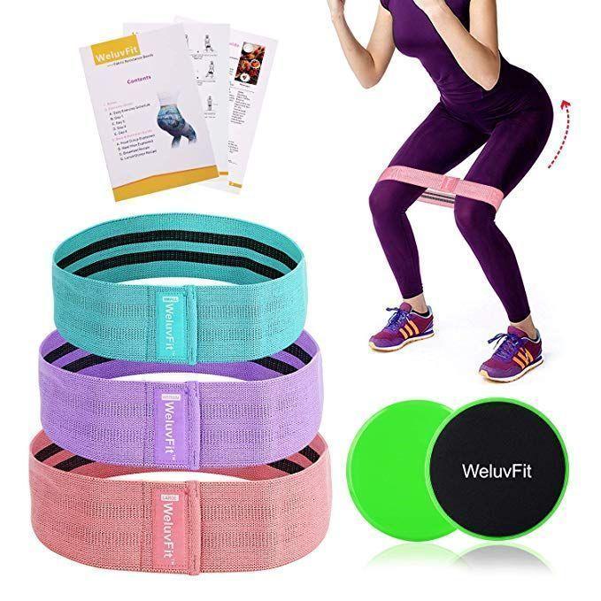 #Doppelseitige #Fitnessbänder #Gleitscheiben #gleitscheiben fitness #Set -  #Doppelseitige #Fitnessb...