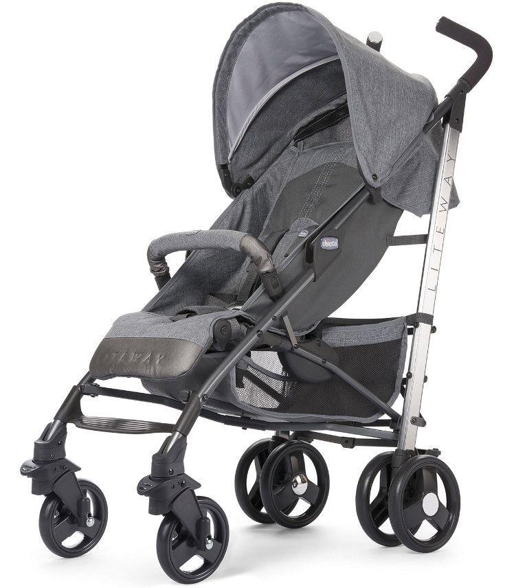Otroški voziček Chicco LITE WAY 2 Legend Special Edition Otroški voziček Chicco Liteway je enostaven voziček tako z estetskega vidika kot z vidika uporabe.  Homologiran je za uporabo od rojstva dalje do 22 kg otrokove teže.. V prid vozičku igra teža, le 7,1 kg, prevleka za noge, ki jo dobite že v sklopu vozička, sprednje varovalo ki je dodatno oblazinjeno v barvi samega vozička in dežno prevleko, skratka dodatki, ki niso prisotni pri vsakem vozičku.