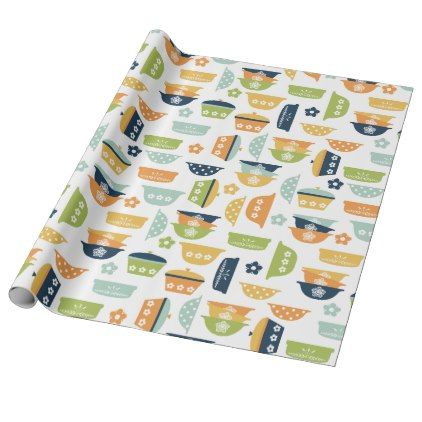 Retro Kitchen Dishes Wrapping Paper | Zazzle.com | retro ... on graduation gift ideas, kitchen shower favors, save the date gift ideas, kitchen art ideas, thanksgiving baby shower ideas, fashion gift ideas, christmas party gift ideas, halloween gift ideas, wedding gift ideas, cooking gift ideas, kitchen centerpieces ideas, first birthday gift ideas, rehearsal dinner gift ideas, kitchen shower cookies, kitchen gift baskets, adult birthday gift ideas, kitchen shower invitations, engagement party gift ideas,