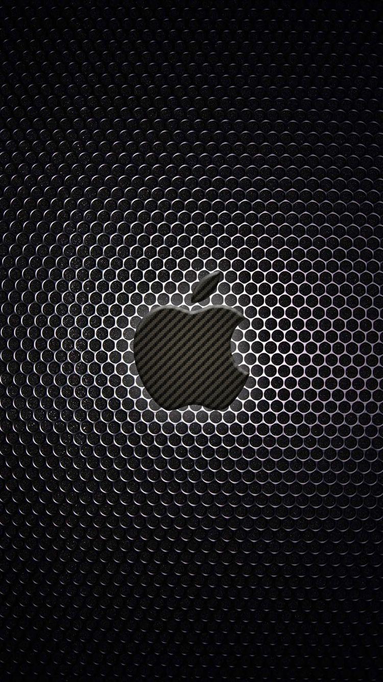 iPhoneWallpapersCarbonCenterApples.jpg 750×1.334 píxeles