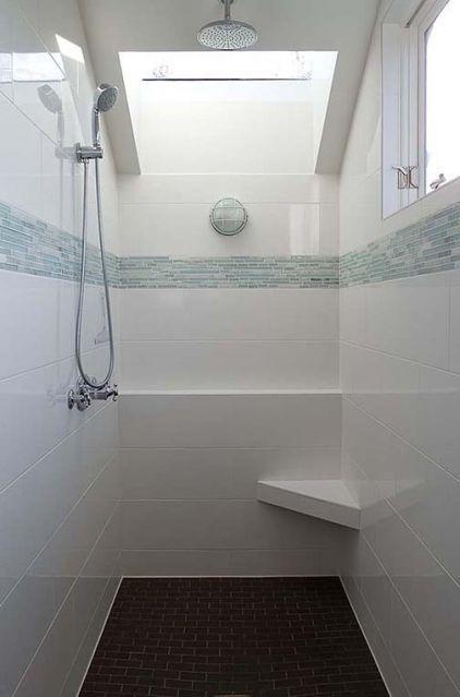 Large White Tiles 6 Inch Mosaic White Tile Shower Blue Glass