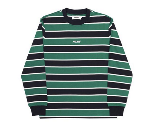 Palace Life Striped Long Sleeves Shirt Get That Nautical Feel With This Shirt And Your Skates Palace Palacio Stripes Longsleevesshirt Shirt
