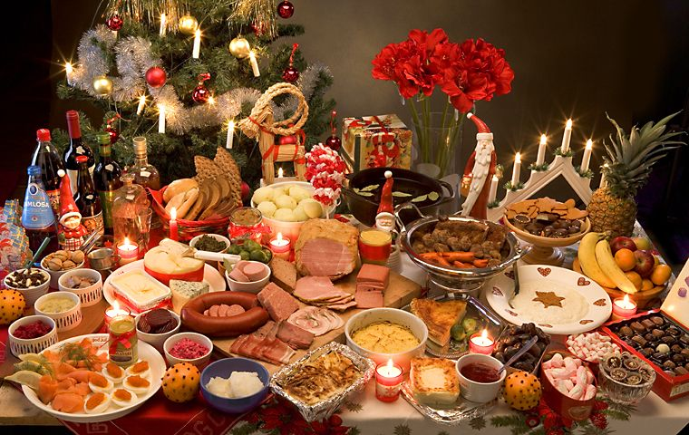 christmas swedish julbord
