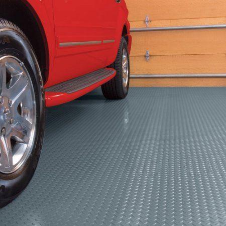 G Floor Mats >> G Floor Garage Floor Cover Protector 7 5 X 17 Diamond Tread