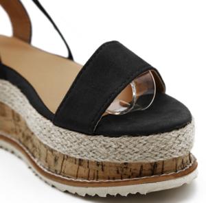 f636a126c050 Laced Up Gladiator Platform Sandals in 2019