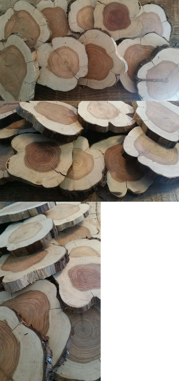 Wooden Pieces 71178 Wholesale Cedar Wood Slices Texas Aromatic