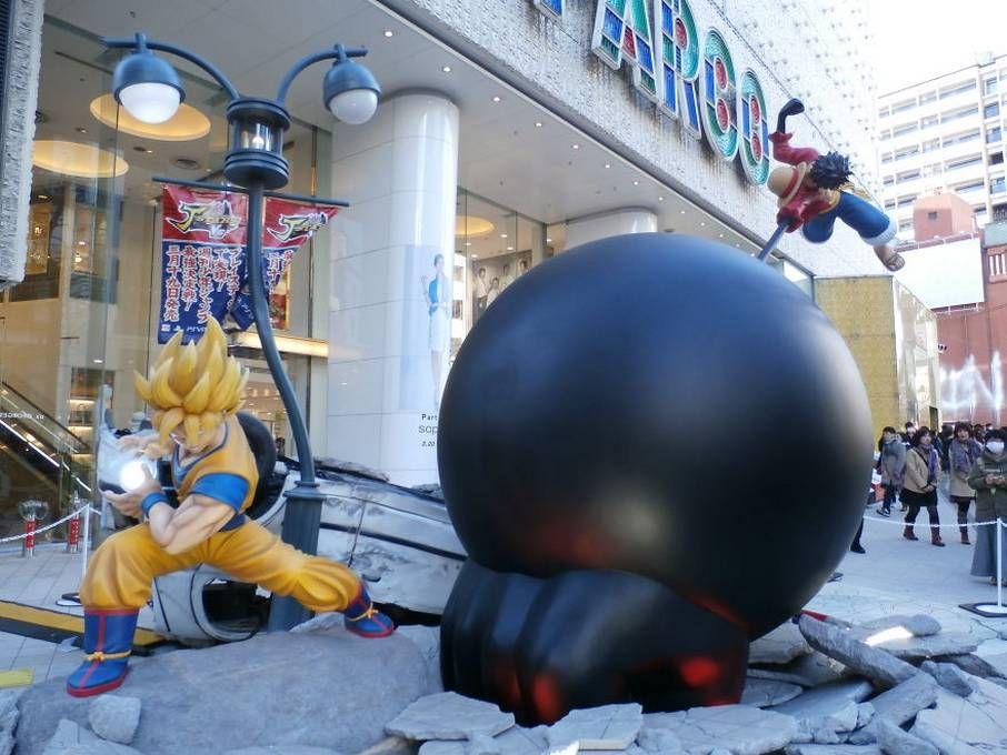 life size anime figure levi