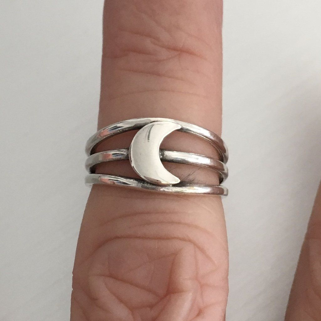 Sterling Silver Triple Band Toe Ring gqPFFXeFS