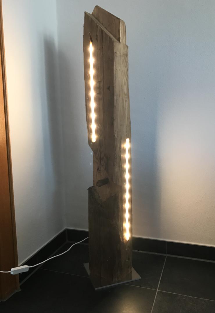 Holzbalken mit LED VI   Creative   Pinterest   Holzbalken, LED und Ideen