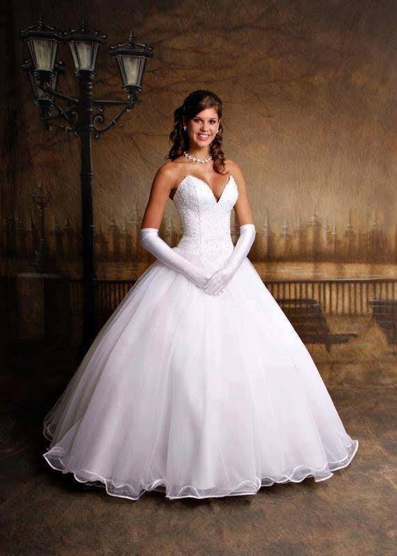 vestidos de noiva estilo princesa 6