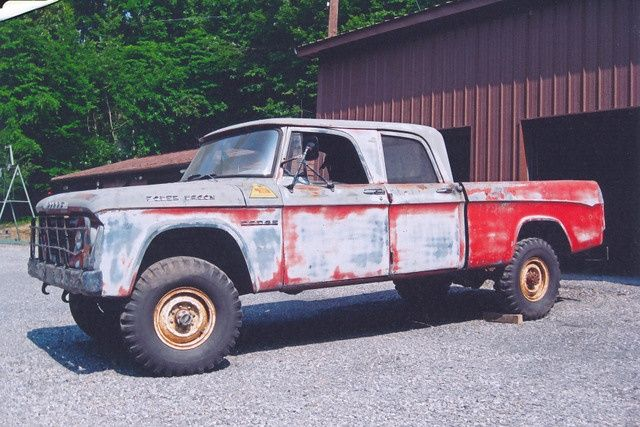 1963 dodge w200 power wagon crew cab power wagon pickup trucks