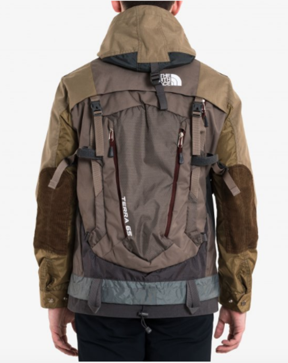 the north face rucksack jacke