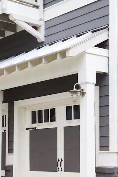 Pergolas Awning Over Garage What A Great Idea House Exterior