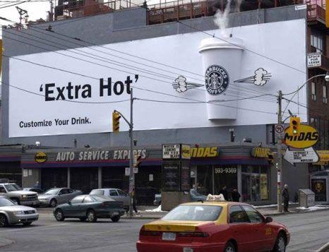 Starbucks Street Marketing Street Marketing Guerilla