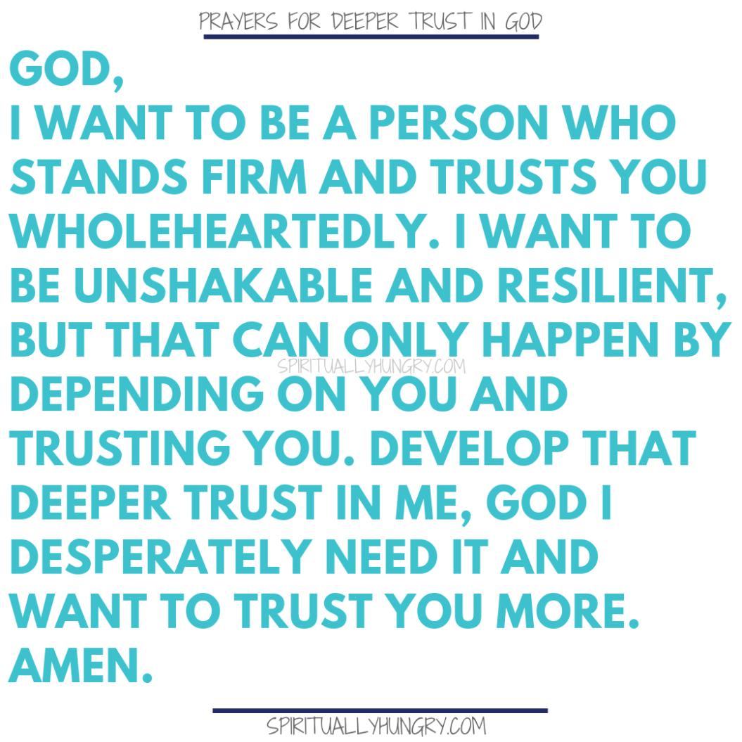 21 Prayers To Help You Trust God Better   Prayers   Pinterest
