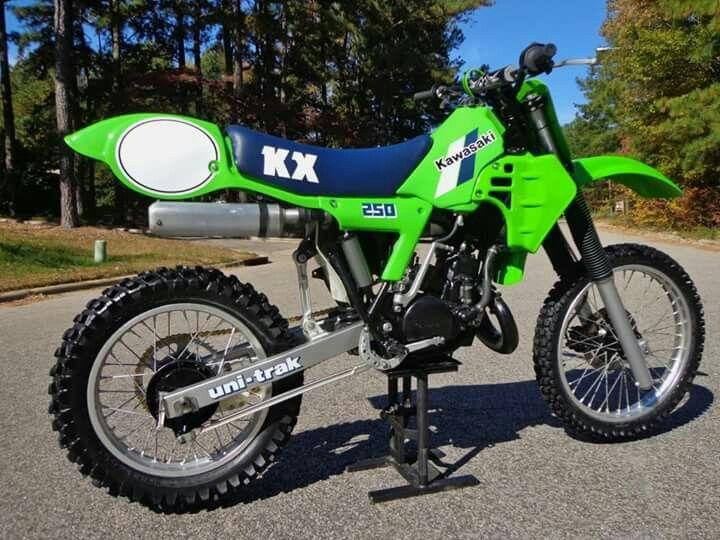 Kawasaki Kx 250 Motocross Bikes Vintage Motocross Dirtbikes