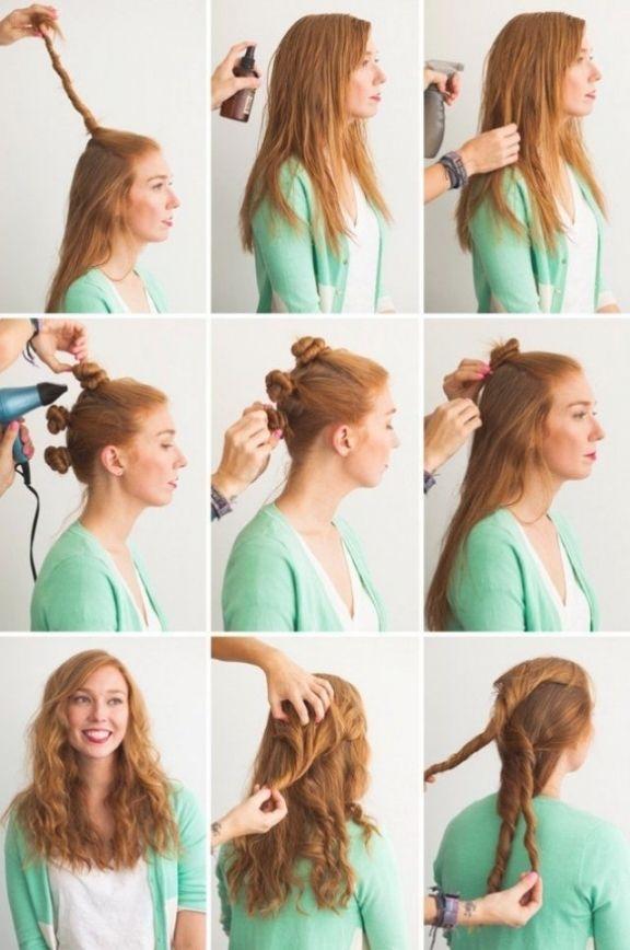 Schöne Frisuren Für Lange Haare Zum Selber Machen 2017