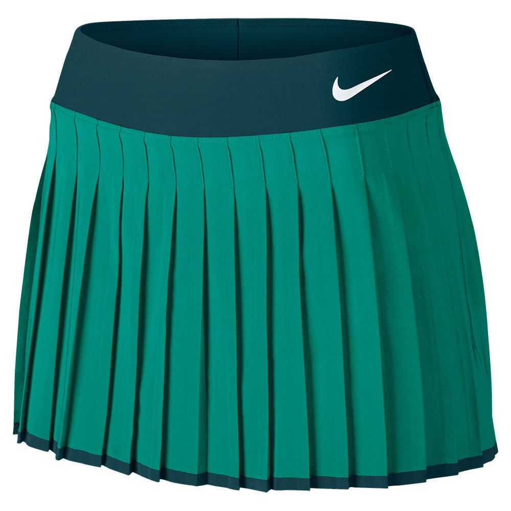 Nike Women S Court Premier Tennis Skirt 728773 351 Green Size Medium New Tennis Fashion Nike Shoes Women Nike Women