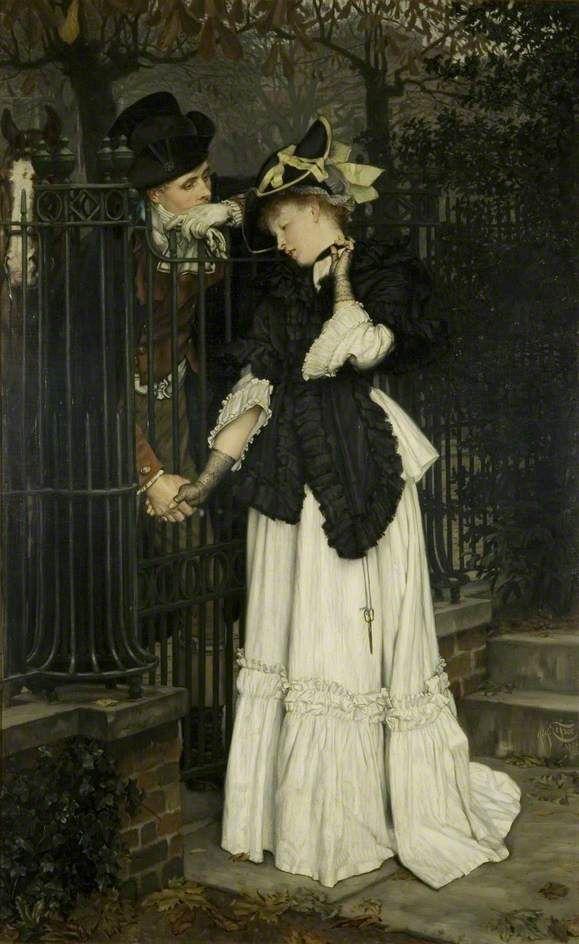 Les Adieux: The Farewells 1871-James Tissot