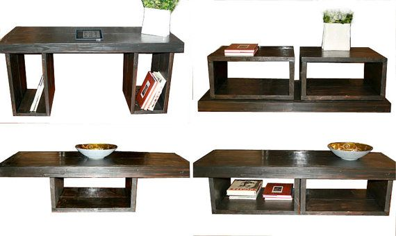 5 Foot Coffee Table With Storage By Modernrust 319 00